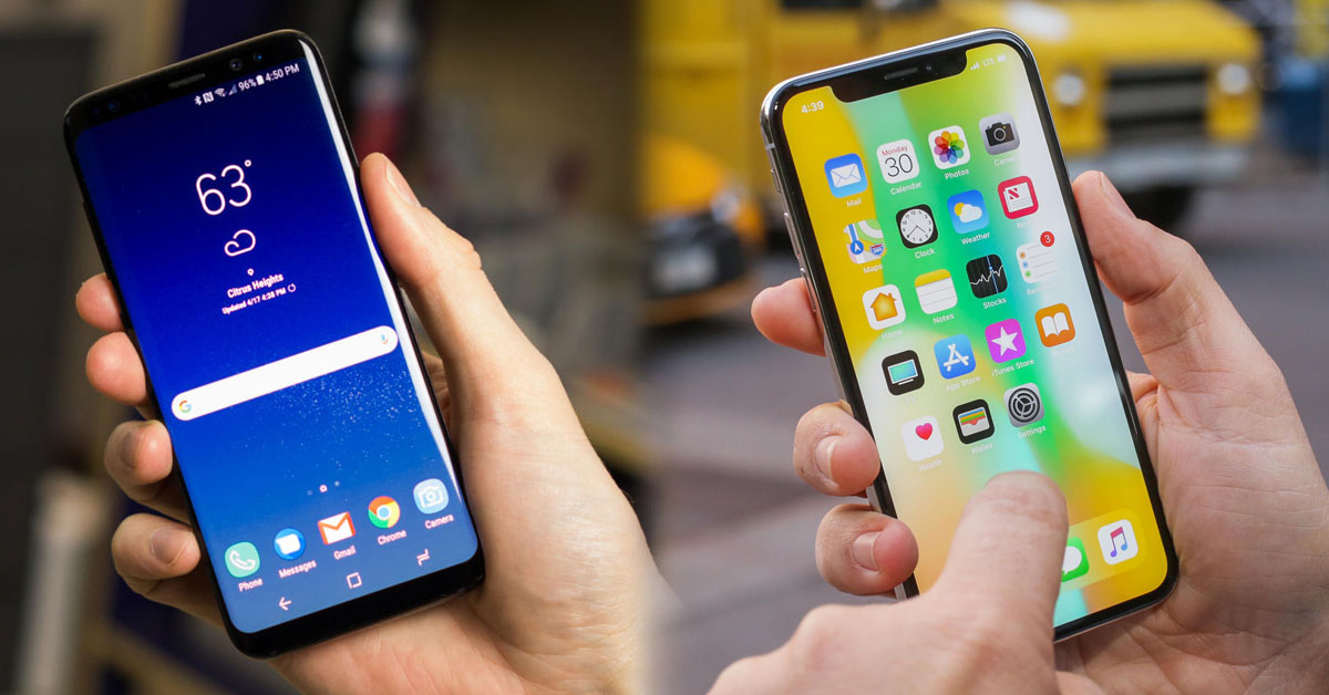 Which is the best smartphone in the world – Samsung or iPhone