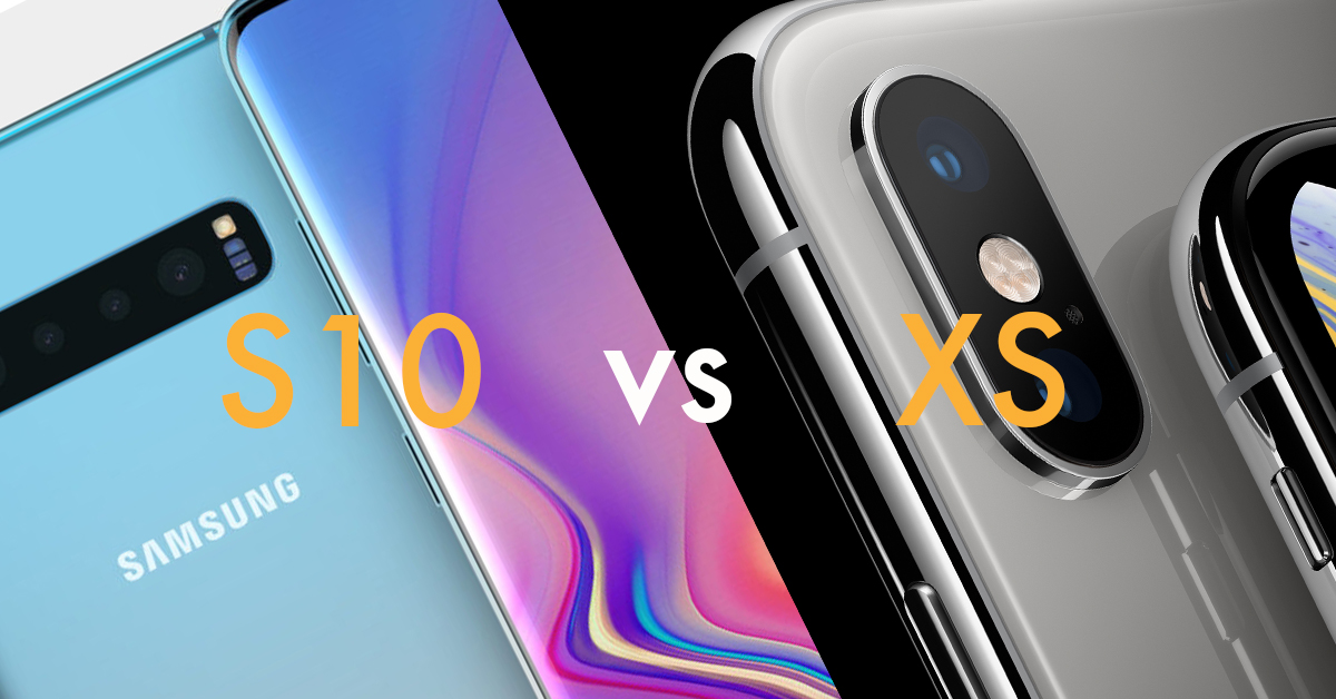 The smartphone battle of 2019 – Samsung S10 vs iPhone XS