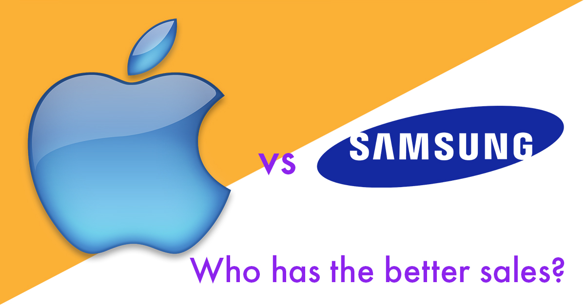 Who sells more – Samsung or iPhone