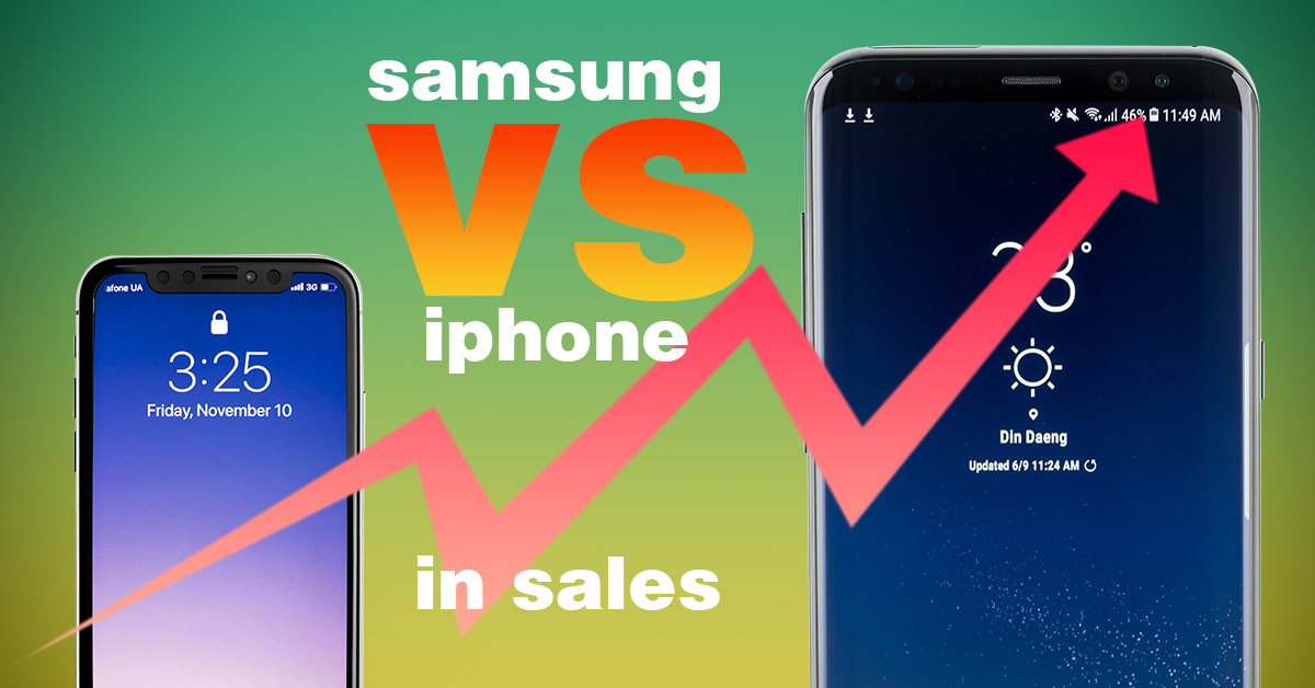 Which Company Sells More – Apple or Samsung?