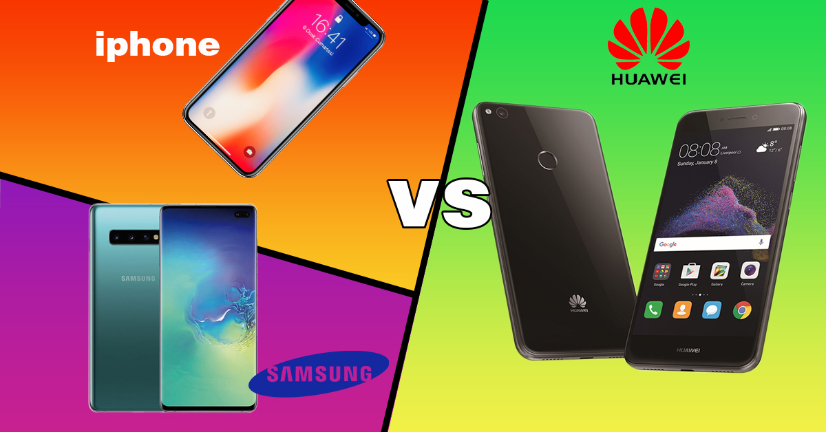 The battle of the smartphones – Samsung vs iPhone vs Huawei?