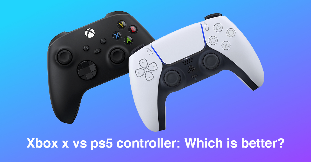 xbox x vs ps5 controller: Which is better?