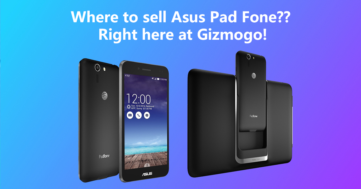 Where to sell Asus Pad Fone?