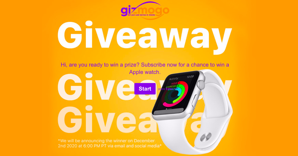 Gizmogo is all about giving and will be holding several giveaways until the end of the year.