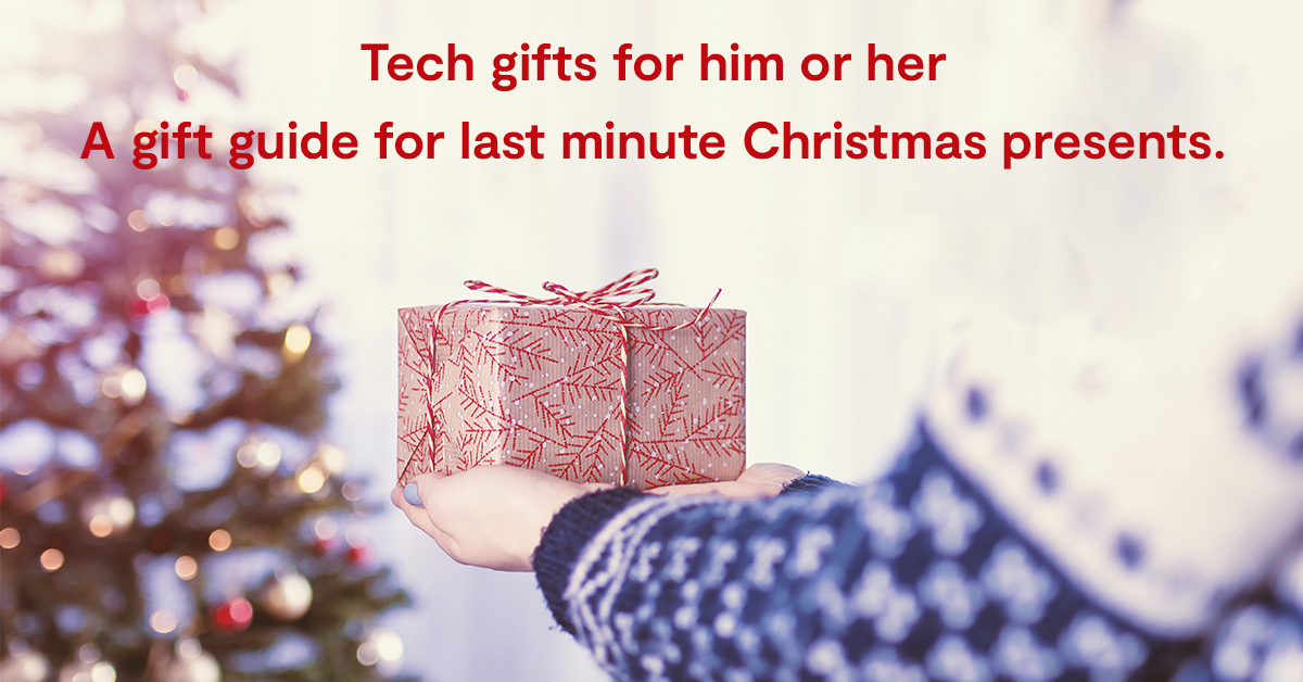 Top 5 must-have tech gifts for him or her