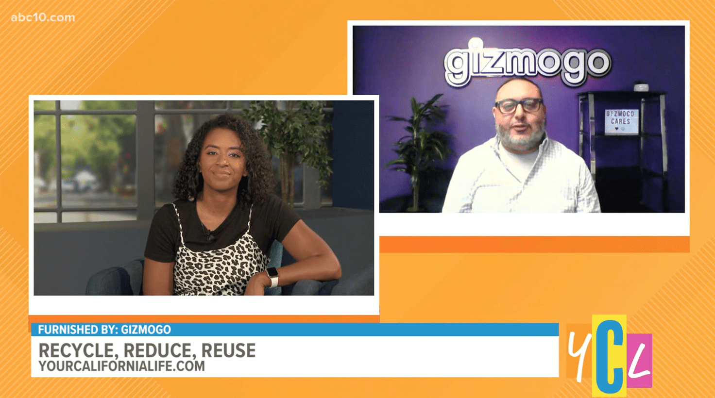 ABC 10 Chats with Gizmogo CIO Steven Vasquez on Tips to Reduce, Reuse and Recycle Used Electronics